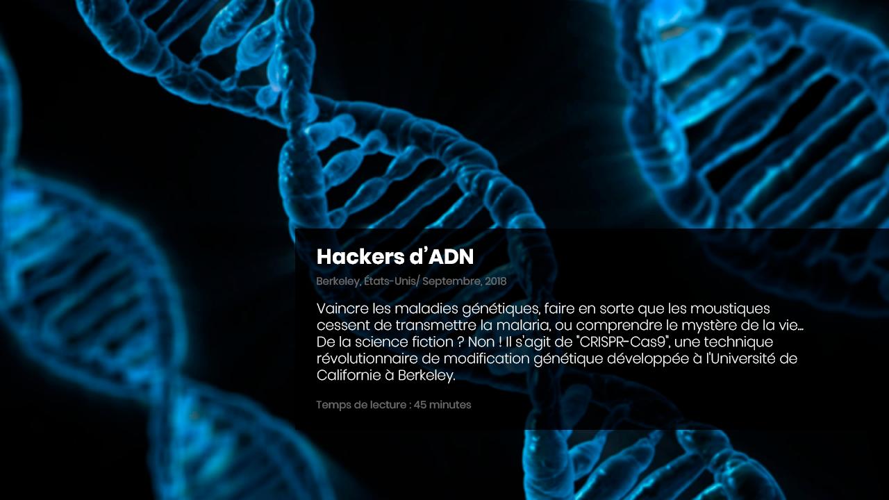 Hackers d'ADN
