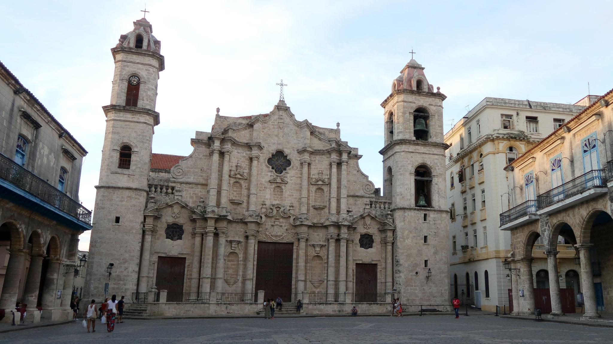 Cathédrale de La Havane, Cuba.