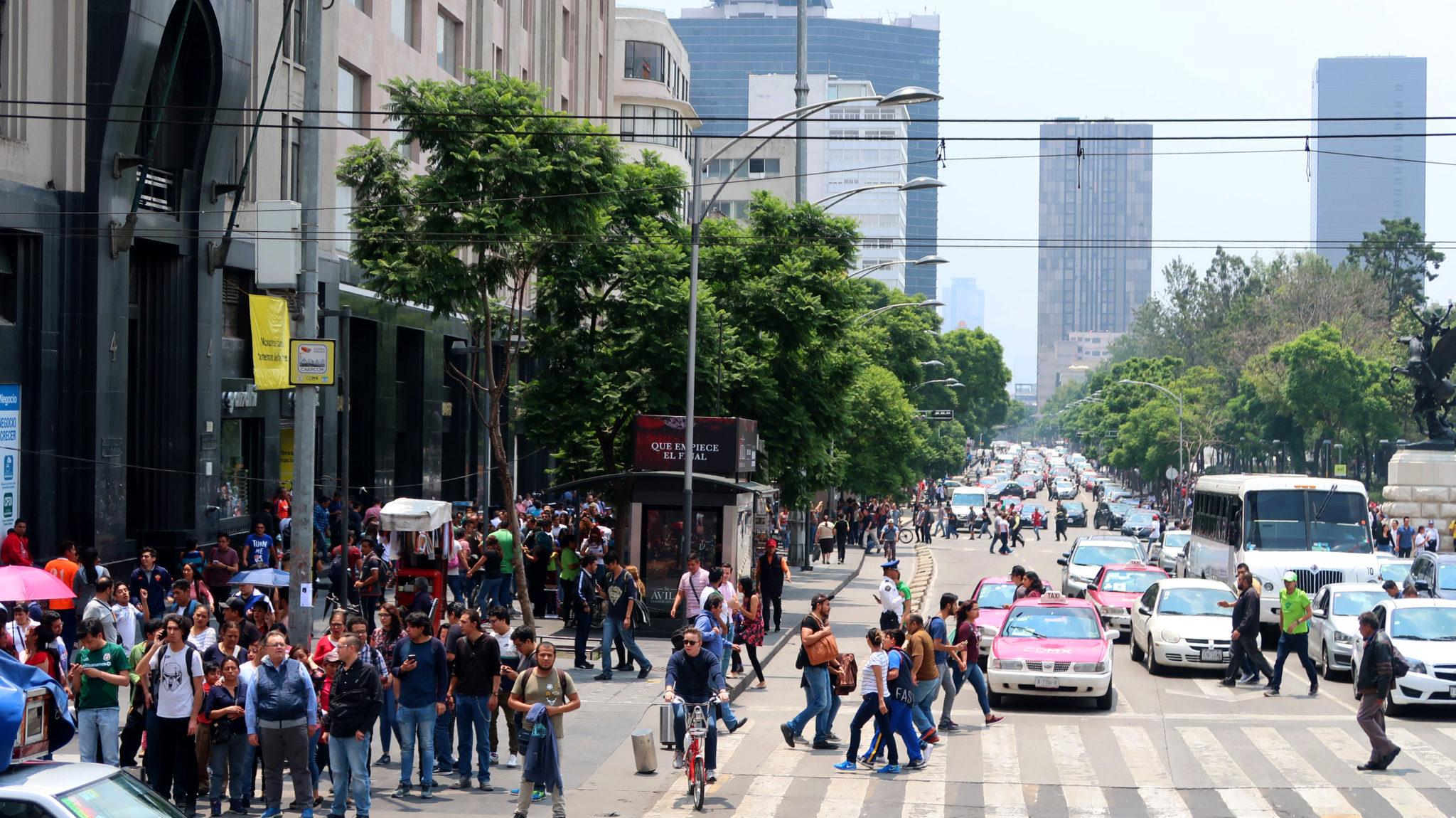Centre-ville de Mexico