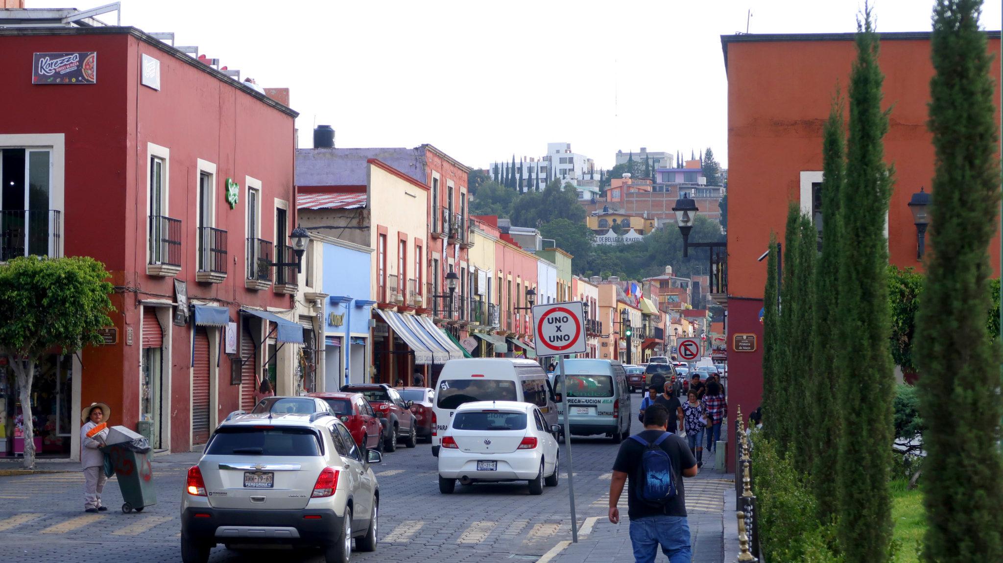 Centro histórico de Tlaxcala, Tlaxcala.