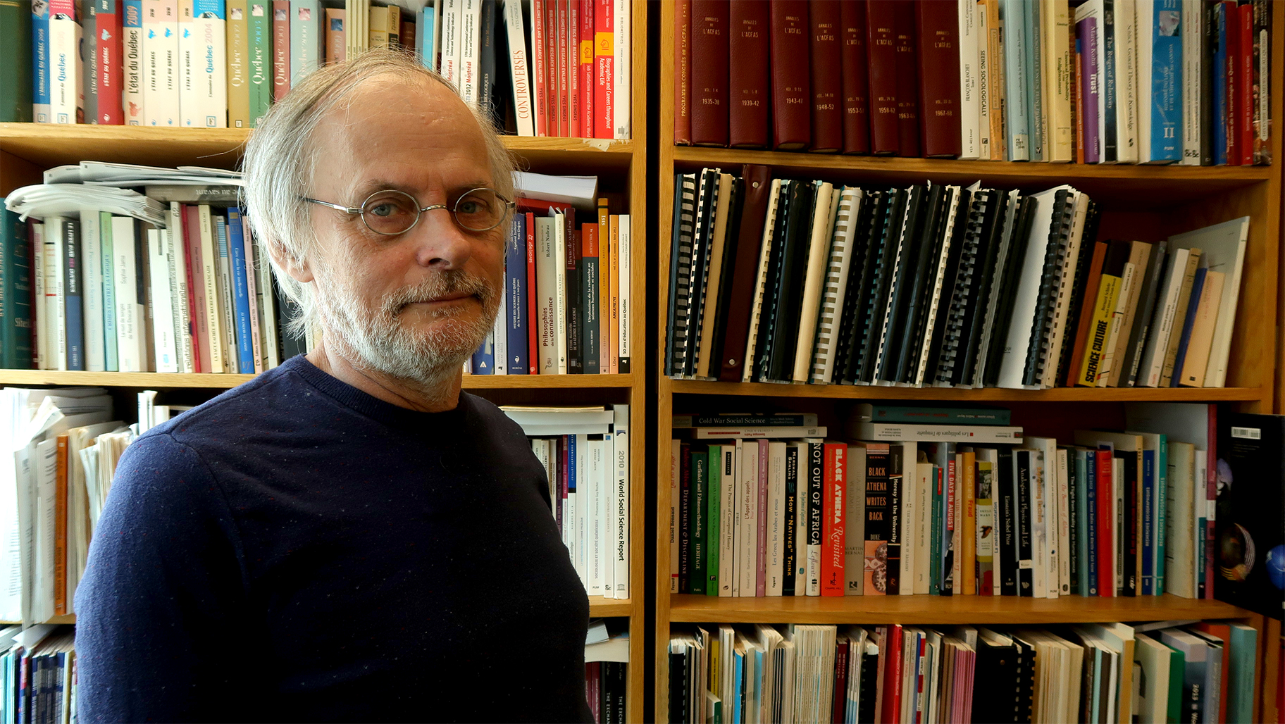 Yves Gingras, historien et sociologue des sciences, Université du Québec à Montréal